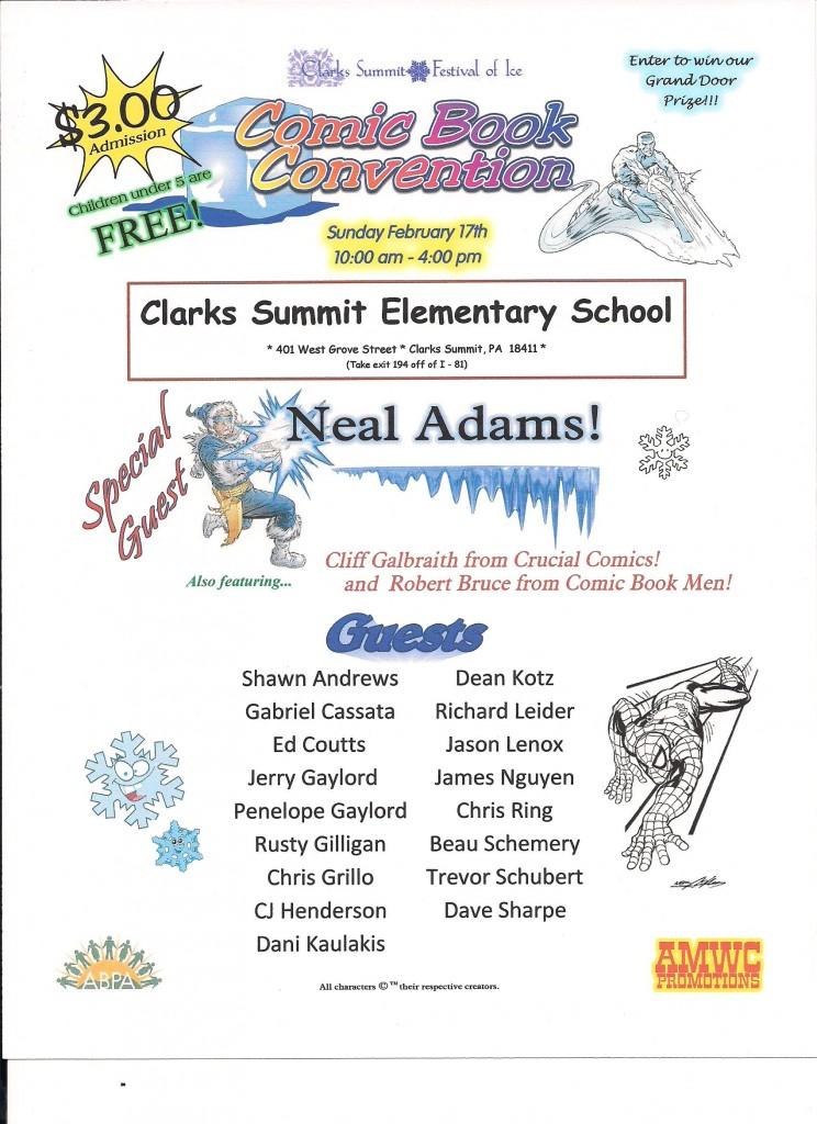 Clarks Summit Ice Con Flyer